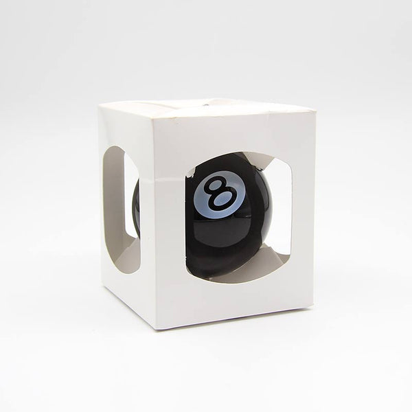 Stussy 8 Ball Ornament Black