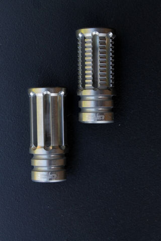 V SEVEN Ti EXTENDED A2 STYLE COMPENSATOR 7.62/6.8