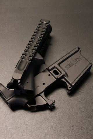 GI SEVEN AR-15 MATCHED RECEIVER SET