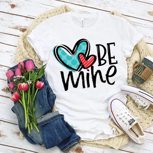 BE Mine Valentines Day shirt