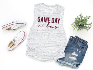 Game Day Vibes Aggies shirt, game day shirt, Texas A&M shirt, Sublimation shirt, Aggie Football game day shirt, Texas Aggies game day shirt