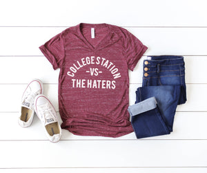 College Station vs The Haters Texas A&M shirt