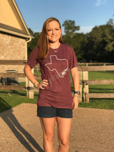 Gigem Aggies shirt, game day shirt, Texas A&M shirt, vinyl shirt, crew neck triblend tee, color options