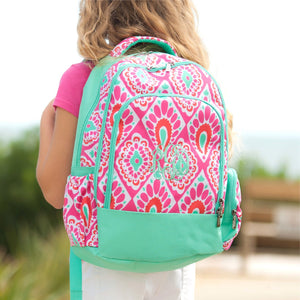 Girls Beachy Keen  Personalized Backpack and lunchbox set