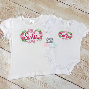 Big Sister Lil Sister set, Big sis shirt, Personalized big or little sister shirt, baby shower big sister gift, pregnancy announcement