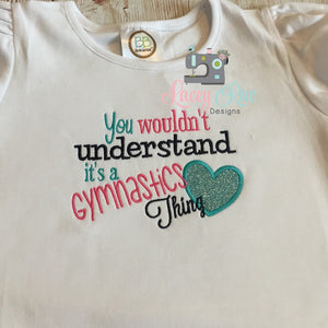 Gymnastics shirt, Gymnastics thing shirt, Custom Gymnastics shirt