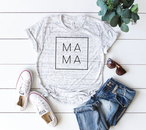 MAMA shirt,  Mom shirts, mothers day shirt, mothers day gift idea, Shirts for mom, gift for mom