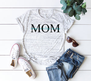 Mom shirt, personalized mothers day, custom mothers day shirt