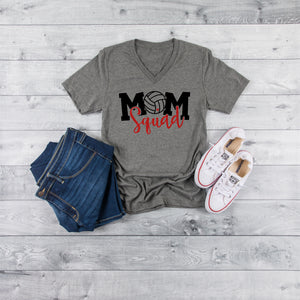 Volleyball Mom Squad shirt, Game Day Volleyball shirt, Volleyball shirt for moms