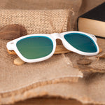 Lunettes Bambou Blanches - Lempa