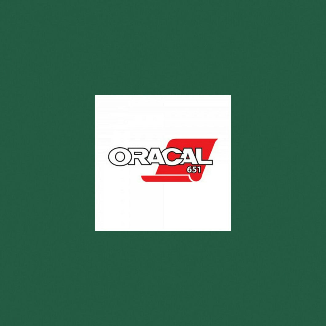 Oracal 651 Gloss A4 Sheet - Forest Green