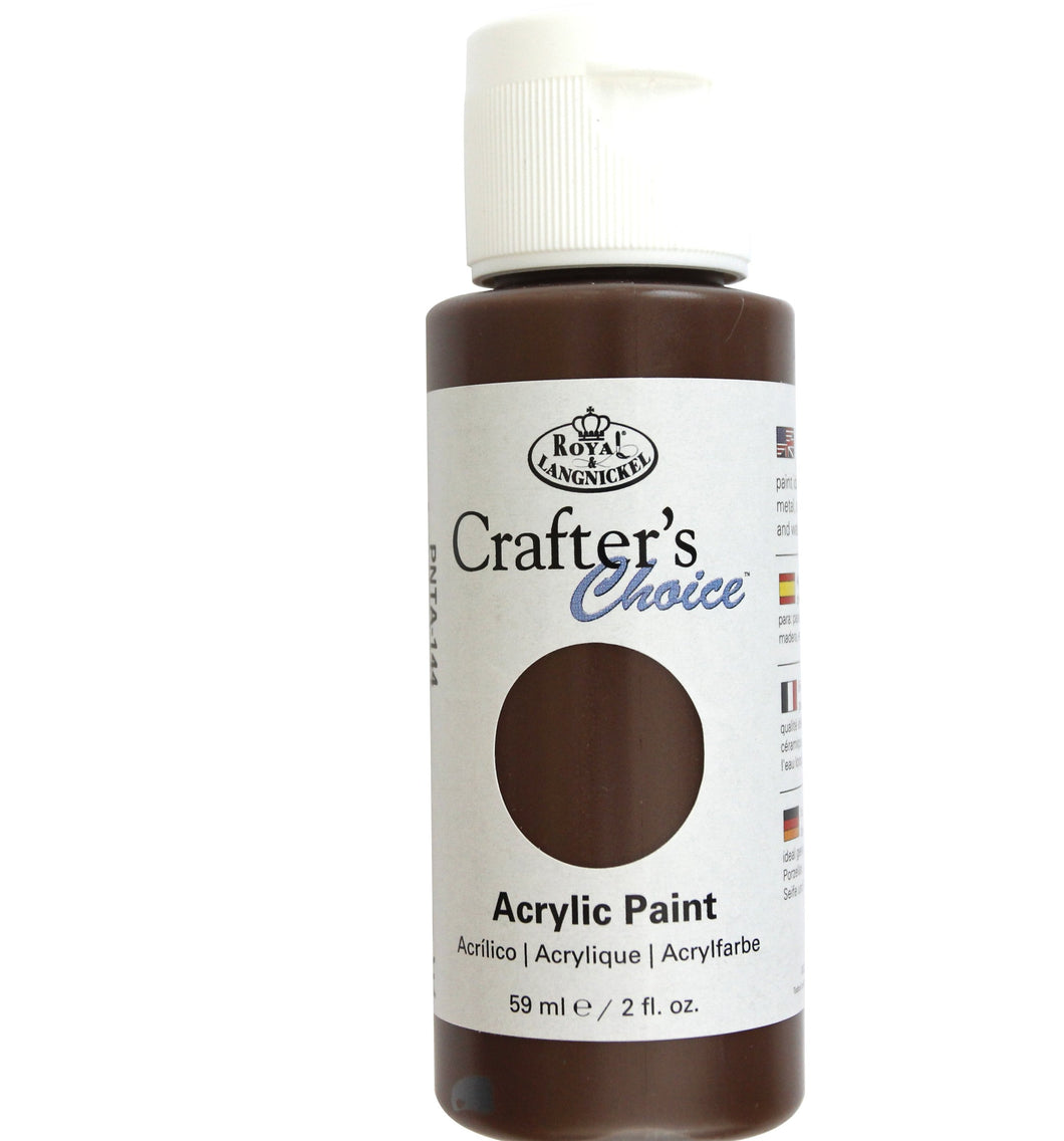 Burnt Umber - PNTA 144 - Royal & Langnickel 59ml acrylic paint