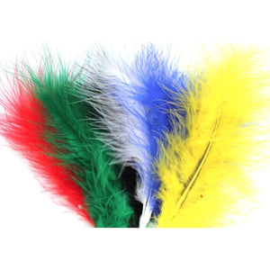 Assorted Marabou Feathers 8 - 13 cm