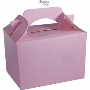 Baby Pink Party Boxes