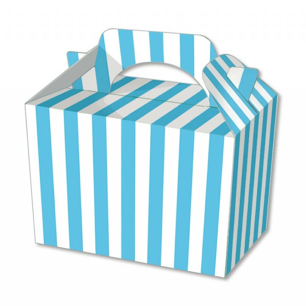 Blue Stripe Party Boxes