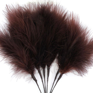 Brown Marabou Fluff Feathers
