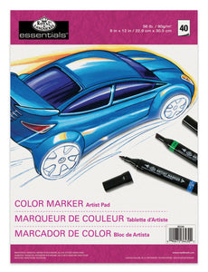 Royal & Langnickel A4 Artist Pad - Colour Marker RD346