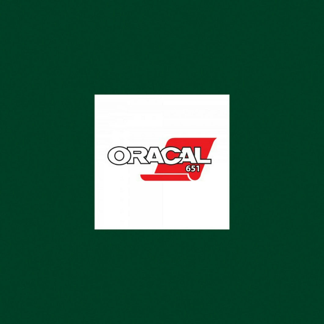 Oracal 651 Gloss A4 Sheet - Dark Green