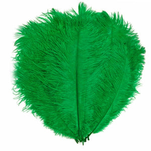 "Emerald Ostrich Feathers 20"" - 24"""