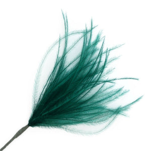 Emerald Wisps Ostrich Feathers