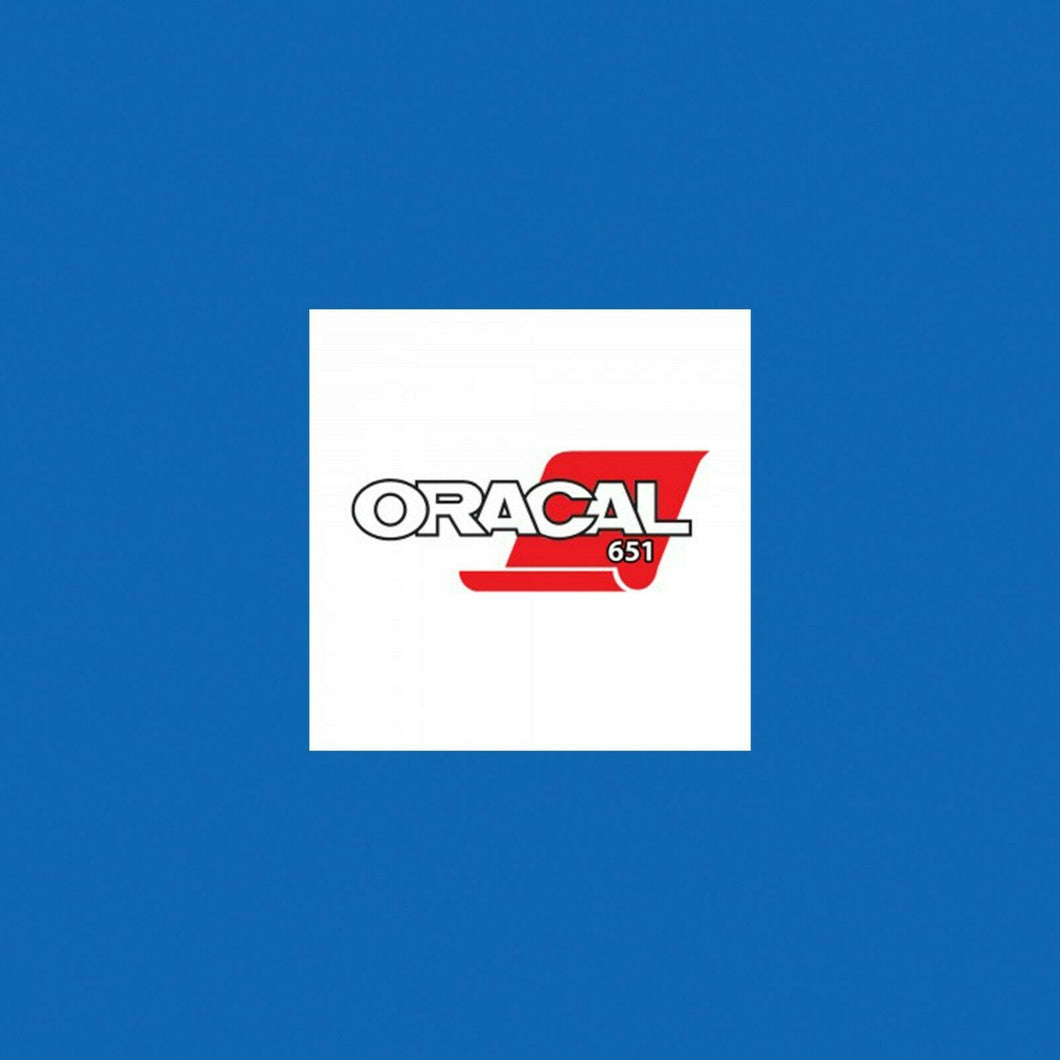 Oracal 651 Gloss A4 Sheet - Gentian