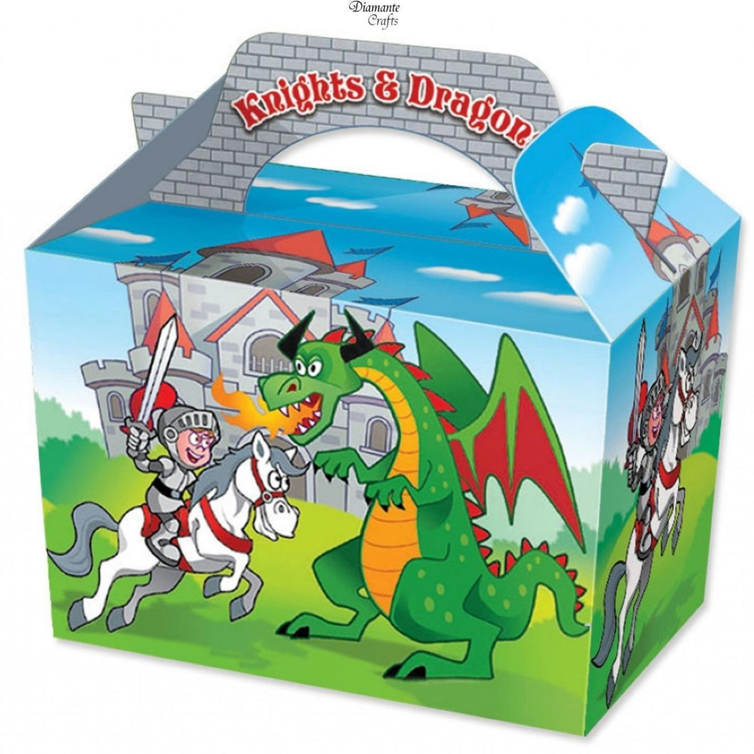 Knights & Dragons Party Boxes
