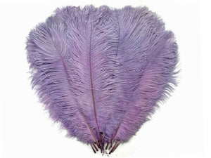 "Lilac Ostrich Feathers 20"" - 24"""