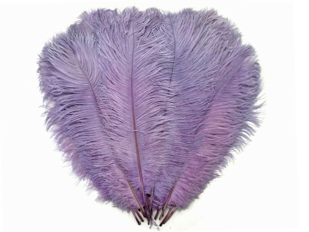 Lilac Ostrich Feathers 20