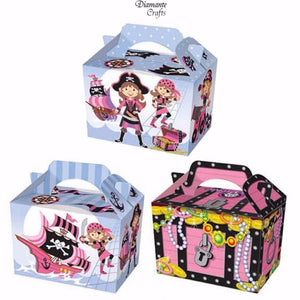 Pink Pirate Party Boxes