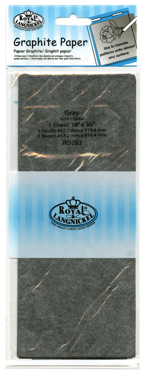 Royal & Langnickel Graphite Paper Grey- RD203