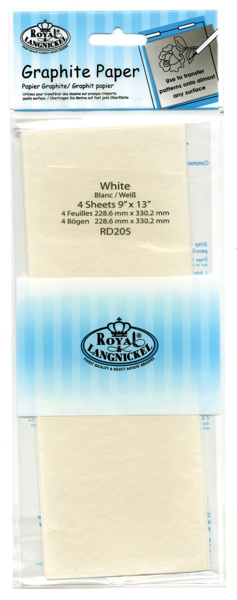 Royal & Langnickel Graphite Paper White - RD205