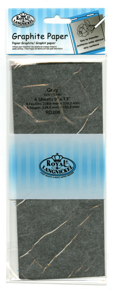 Royal & Langnickel Graphite Paper Grey- RD206