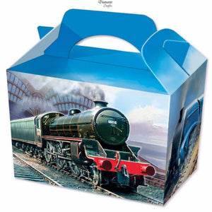 Steam Train Party Boxes