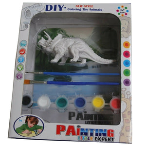 Paint Your Own Triceratops