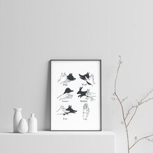 Load image into Gallery viewer, Shadow Puppets Print
