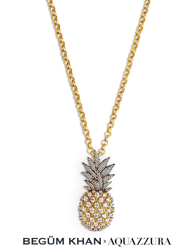 Begum & Eddie's Pineapple Cocktail Necklaces