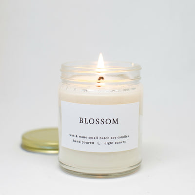 Blossom 8 Oz Modern Soy Candle