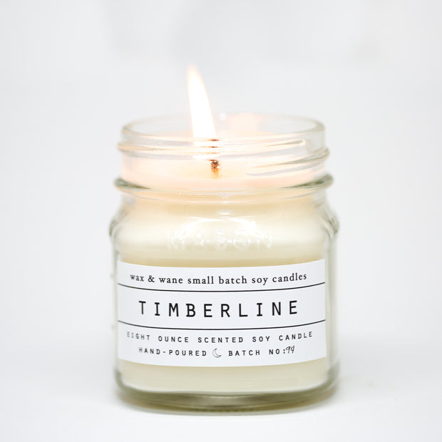 Timberline 8 Oz Mason Candle