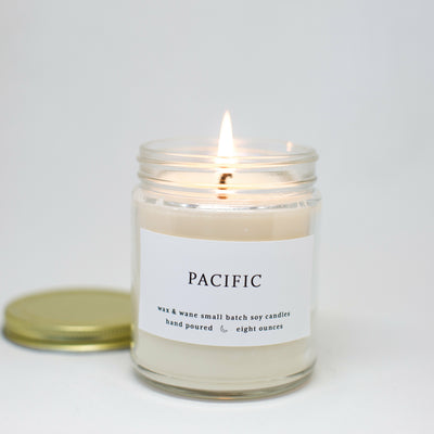Pacific 8 Oz Modern Candle