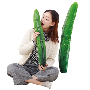 1pc 50/70/110cm Huge Creative Simulation Cucumber Plush Toy Stuffed Cute Fruits Pillow Funny Kids Children Christmas Gift Doll