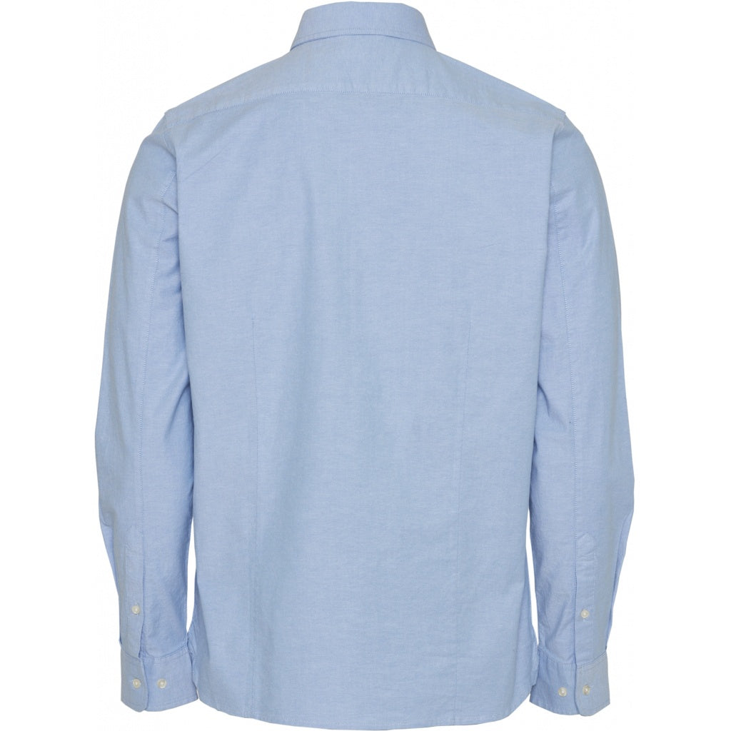 ELDER Regular fit Oxford Shirt - Lapis Blue