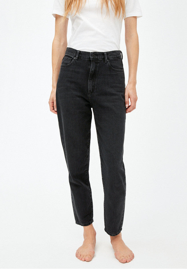 Damen Jeans MAIRAA washed down black