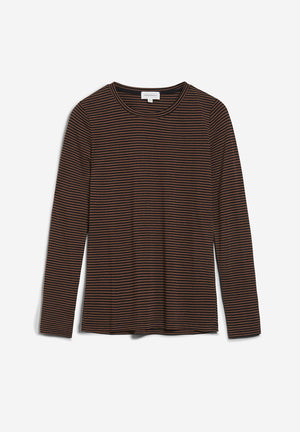 Longsleeve LARENAA RING STRIPES