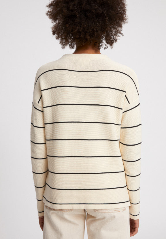 Strickpullover MEDINAA FINE STRIPES