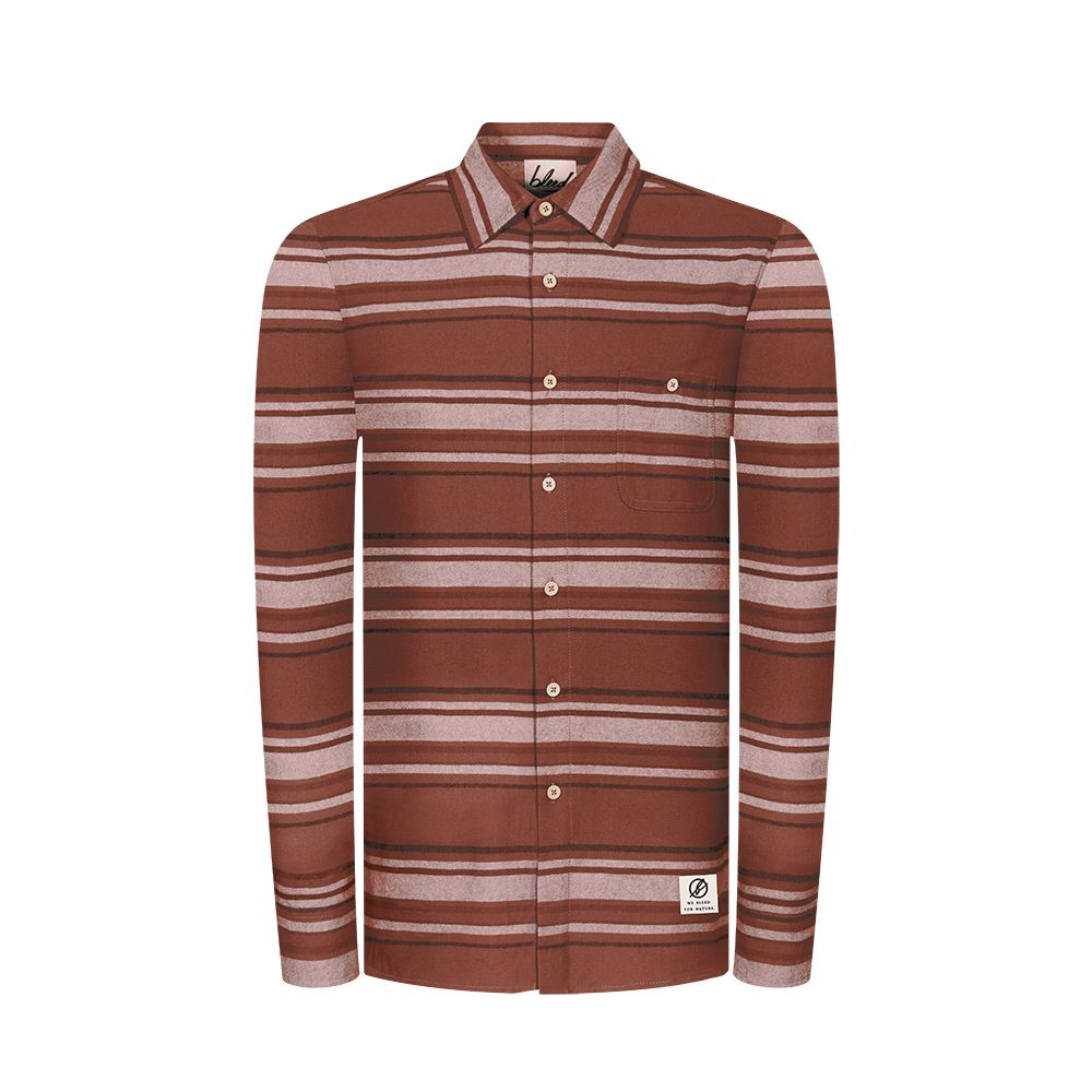 Flanellhemd Striped