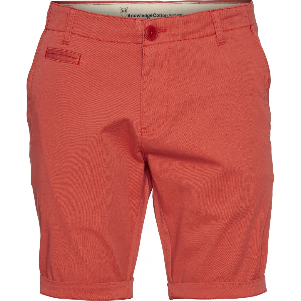 CHUCK Chino Shorts Spiced Coral von Knowledge