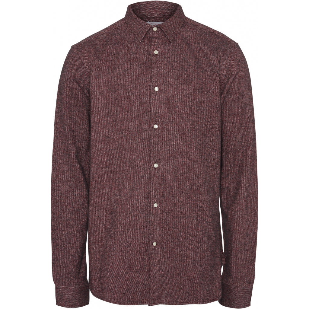 LARCH Casual fit Brused Shirt von Knowledge
