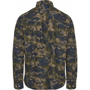 LARCH Casual fit Tencel AOP Shirt