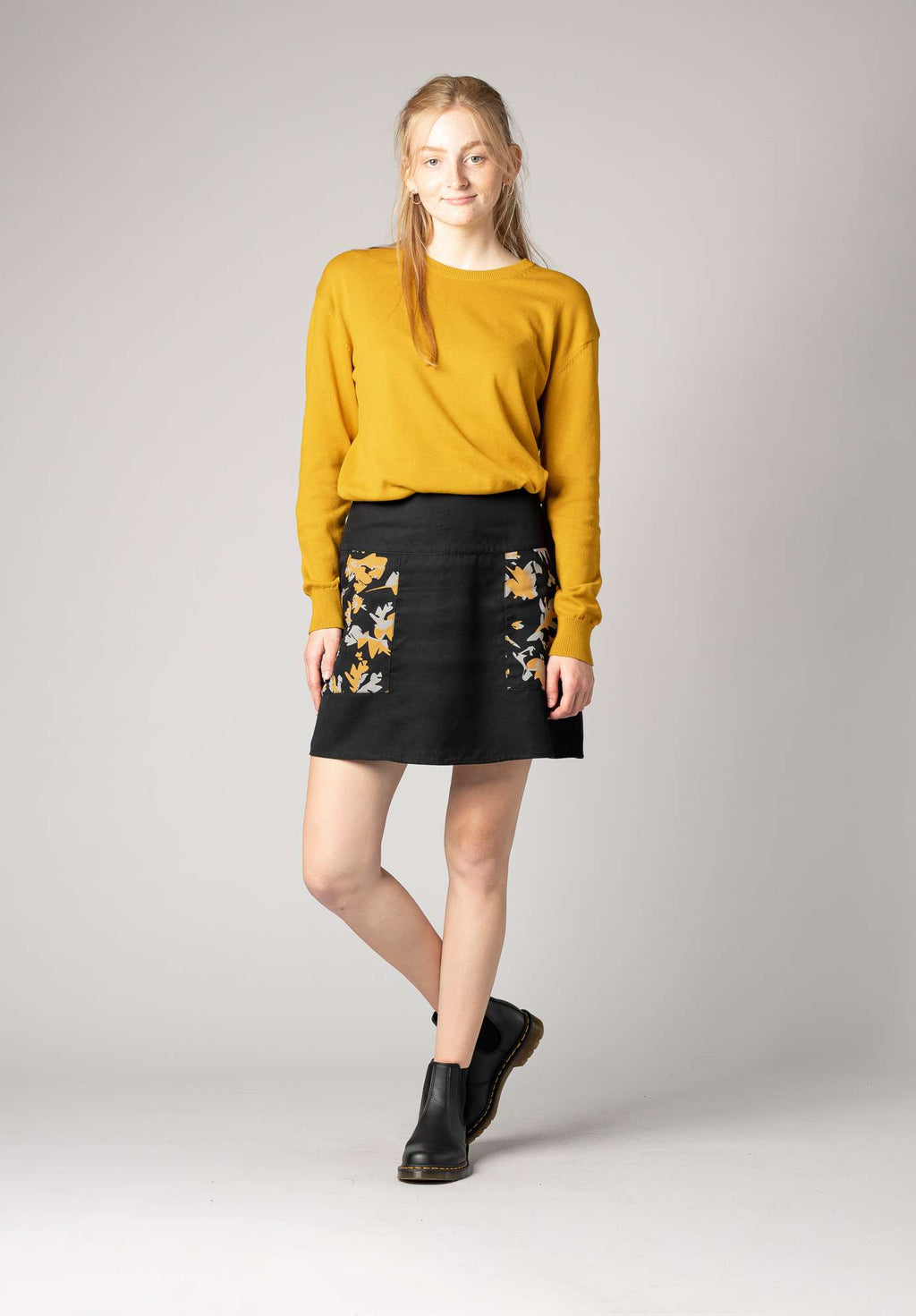 Indian Summer Skirt Woman Black