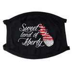 Sweet Land Of Liberty Face Mask